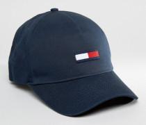 Marineblaue Baseballkappe mit THDM-Flagge Marineblau