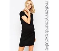 Mamalicious Figurbetontes Kleid Schwarz