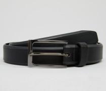 Eleganter Gürtel mit Struktur Schwarz