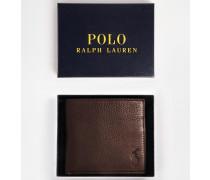 Brieftasche aus Leder Braun
