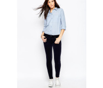 Genetic Shya Enge Jeans in Marineblau Marineblau