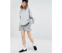 Shorts mit grauem Logo Grau