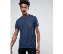 Campbell T-Shirt mit Lpgo-Print am Rücken Weiß