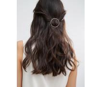 Hinan Kreisförmige Haarspange Gold