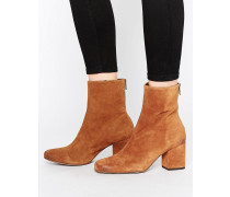 Cecile Ankle-Boots Braun