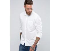 Nudie Henry Bastist-Hemd Weiß
