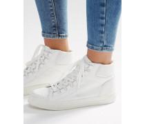 DOWN LOAD Knöchelhohe Sneaker Weiß