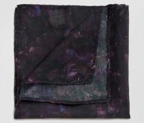 Einstecktuch aus Seide Violett