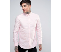 Shirt in schmaler Passform Rosa