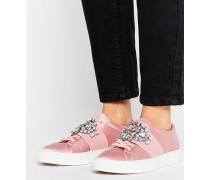 DECODE Embellished Trainers Rosa