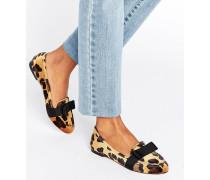 MIRANDA Loafer mit Schleife Mehrfarbig