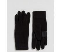 Micro D Schwarze Handschuhe Schwarz