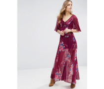 Bouquet Maxikleid Rot