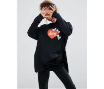 X Disney 101 Dalmatiner Puppy Love Sweatshirt Schwarz