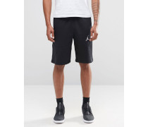 Nike Jumpman Flight Shorts in Schwarz 824020-010 Schwarz
