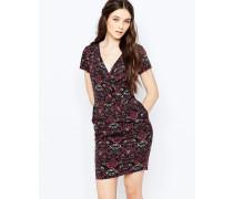Bailey Kleid mit Tapetenmuster Mehrfarbig