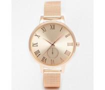 Tonal Rosegoldene Armbanduhr Kupfer