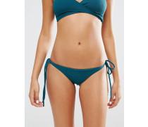 Jade Bikinihose mit geraffter Rückseite Grün