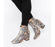 RACHELLE Ankle Boots mit Absatz Schwarz