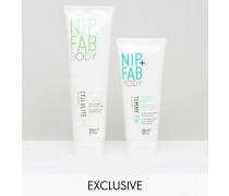 Nip & Fab Duo Ultimate Body Prep, nur bei ASOS, 47% SPAREN Transparent