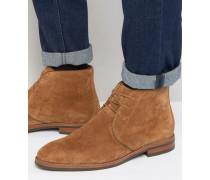 Faure Chukka-Stiefel aus Wildleder Bronze