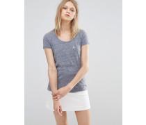 Basic T-Shirt Marineblau