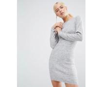 Pulloverkleid Grau