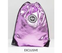 Exklusive Tasche in babyrosa Metallic Rosa