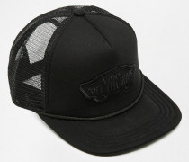 Trucker-Kappe mit klassischem Logo Schwarz
