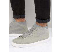 Monaco Mittelhohe Sneaker Grau