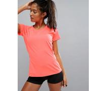 Nightcat Illuminate Lauf-T-Shirt Orange
