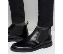 Royce Chelsea-Boots aus Leder Schwarz