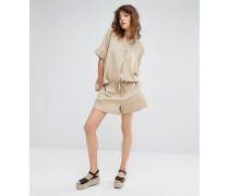 Samsoe & Samsoe Tuersen Shorts mit Taschen Beige