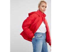 Ultimate Wattierte Jacke Rot