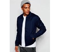 Harrington-Jacke in Blau Blau
