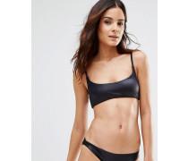 Bralette-Bikinioberteil Schwarz
