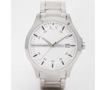Uhr aus Edelstahl, AX2177 Silber