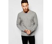 Levi's Sweatshirt mit Rundhalsausschnitt in Heidegrau Grau