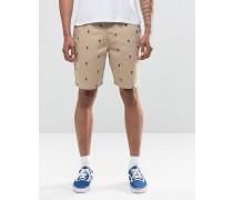 Dewitt Monogramm-Shorts in Beige, V1XKJCR Beige