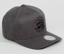 Toronto Raptors Snapback-Kappe Grau