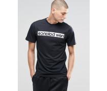 Logo-T-Shirt in Schwarz MT61557 Schwarz