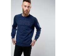 Levi's Pullover mit Logo in Indigoblau Blau