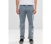 Vacant Gerade Jeans in Benchblau Blau