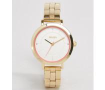 Goldene Armbanduhr Gold