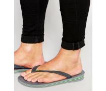 Brasilien Flip-Flops Grau