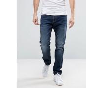 Blue Stretchy Slim Jeans Blau