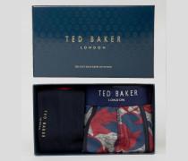 Unterhose und Socken im Geschenkset Mehrfarbig