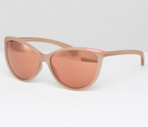 CK Jeans Sonnenbrille in Katzenaugenform Rosa