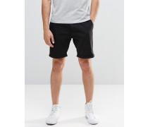 Schwarze Chino-Shorts Schwarz