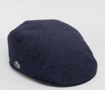 Flache Kappe in Marineblau Marineblau